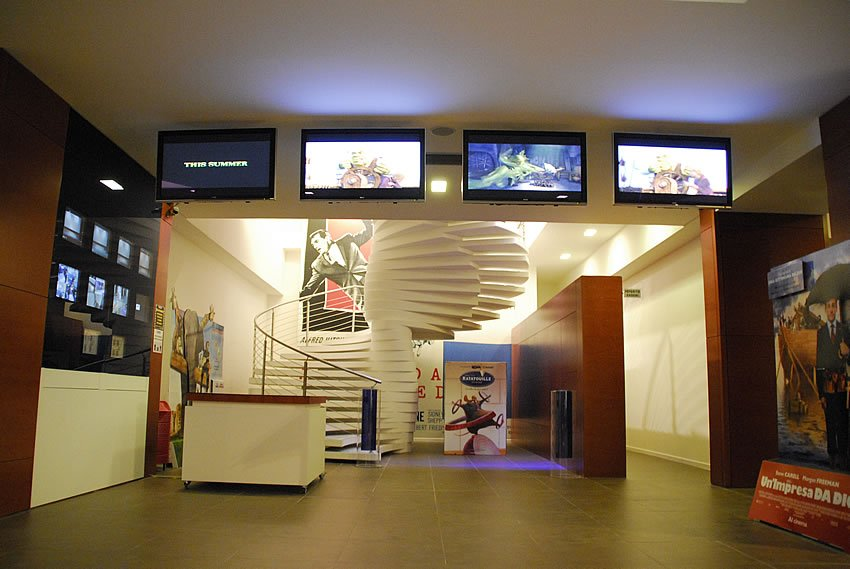 Cinema Matelica interno