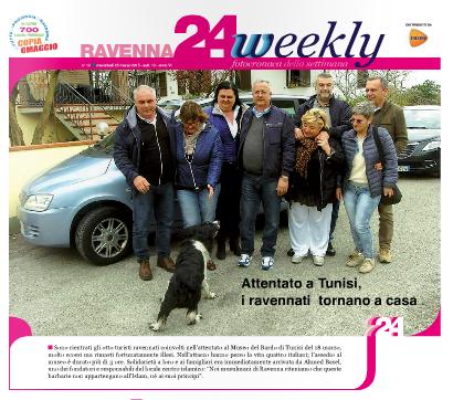 Copertina Ravenna24Weekly del 25 marzo 20015