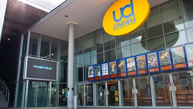 Veduta dell'ingresso del Multiplex UCI Romagna a Savignano