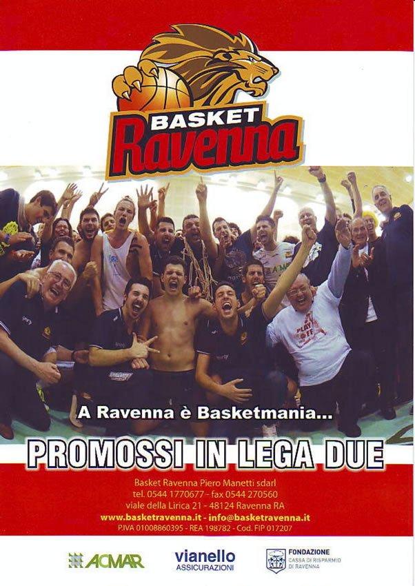 Basket Ravenna Piero Manetti