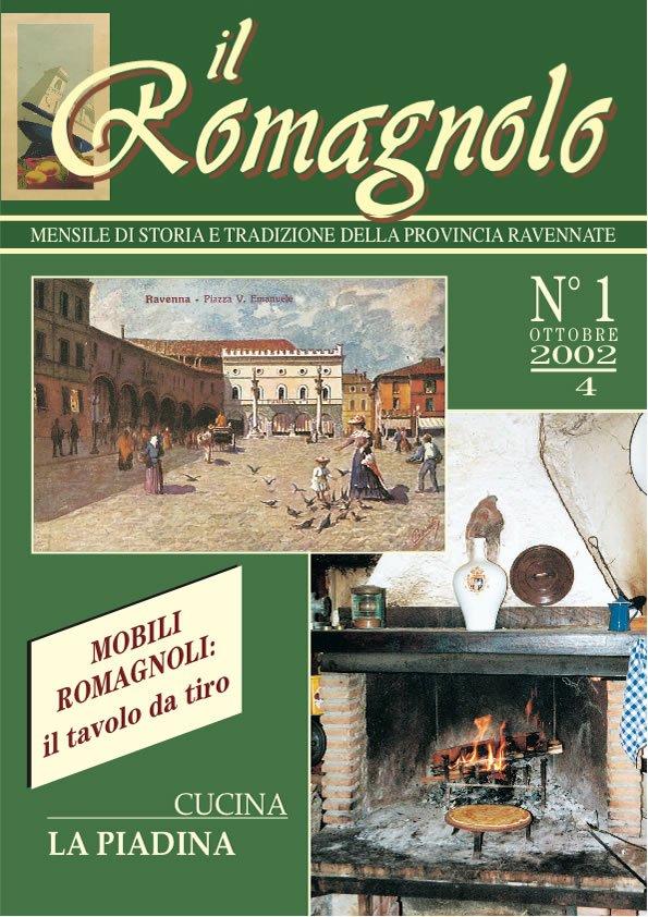 IL ROMAGNOLO Copertine 01-2002