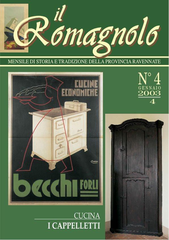 IL ROMAGNOLO Copertine 04-2004
