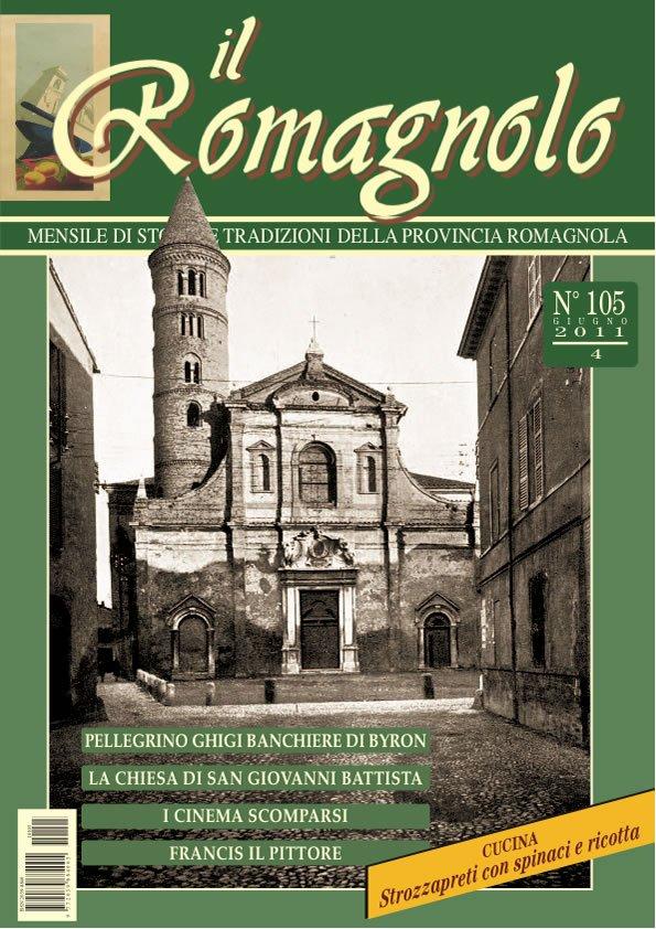 IL ROMAGNOLO Copertine 105-2011