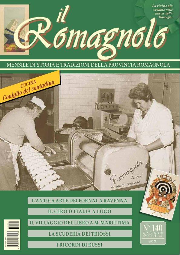 IL ROMAGNOLO Copertina 140-2014