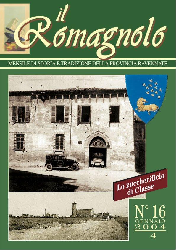 IL ROMAGNOLO Copertine 16-2004