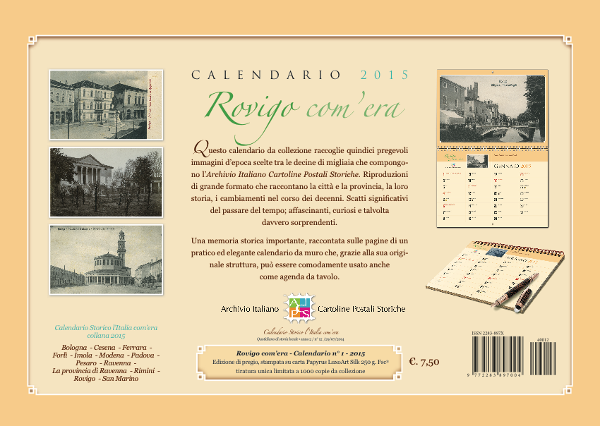 calendario storico rovigo