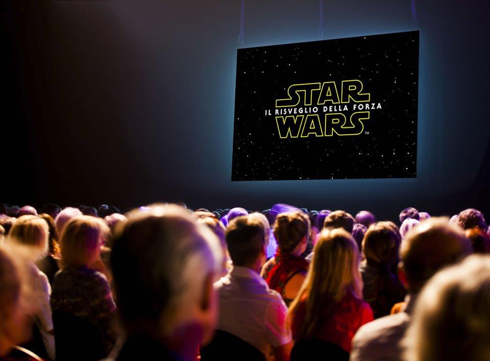 Star Wars - Il risveglio della Forza al cinema