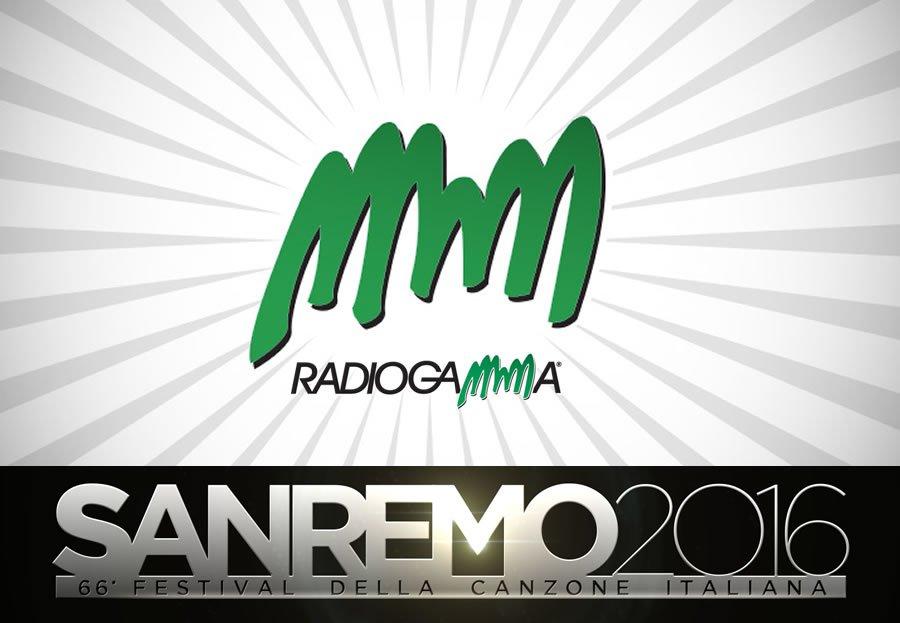 RadioGamma al Festival di Sanremo 2016