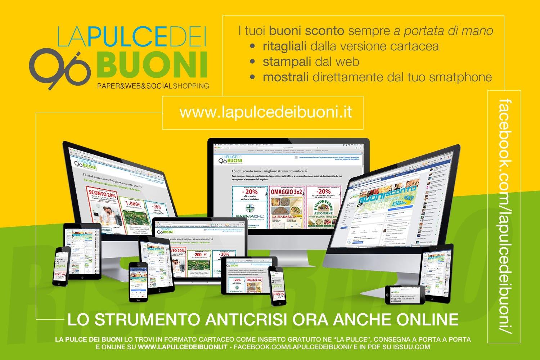 La Pulce dei Buoni è anche online sul web e su Facebook