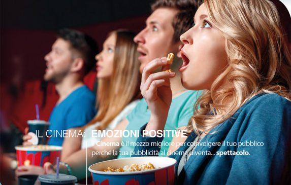 Il cinema trasmette emozioni positive