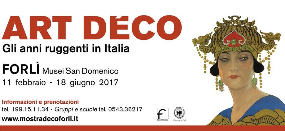 Mostra: Art Déco Gli anni ruggenti in Italia
